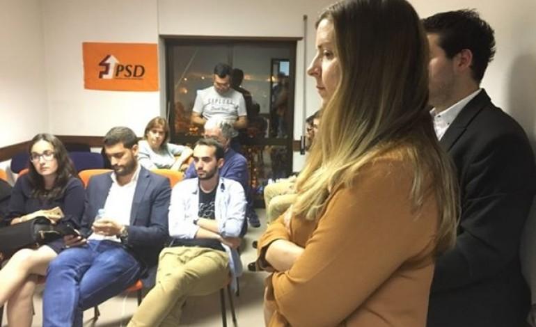 O ambiente na sede do PSD