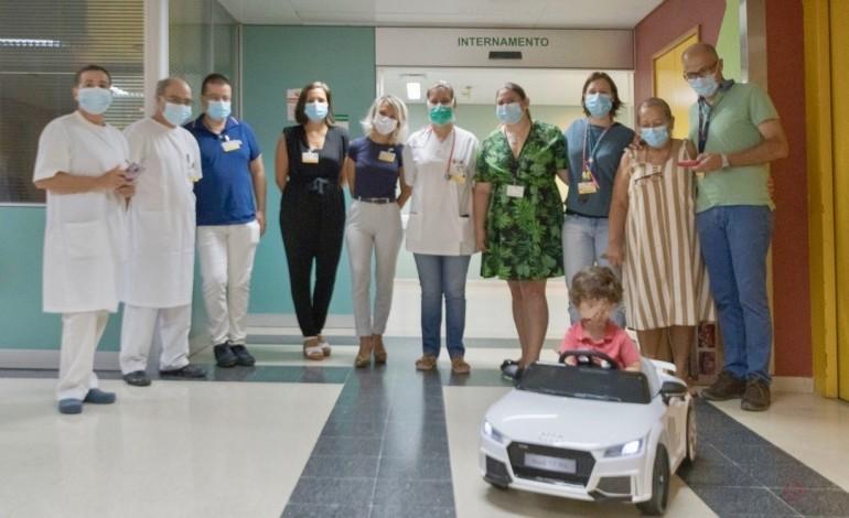 vencedor-do-orcamento-partilhado-do-centro-hospitalar-de-leiria-oferece-carro-electrico-infantil-a-pediatria