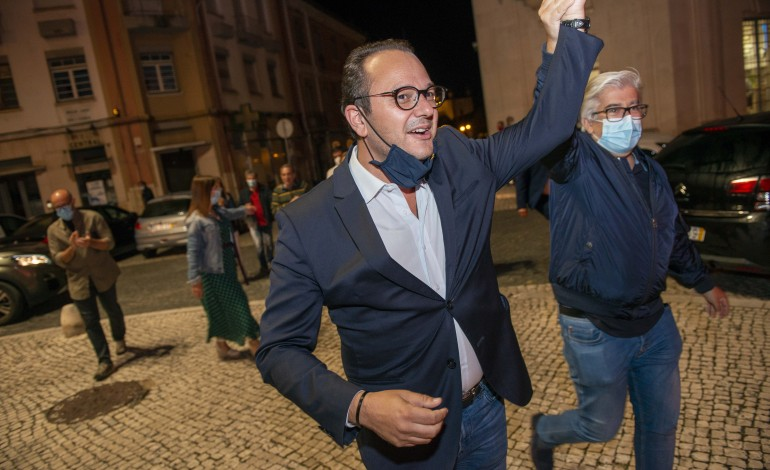 Gonçalo Lopes foi eleito presidente da Câmara de Leiria