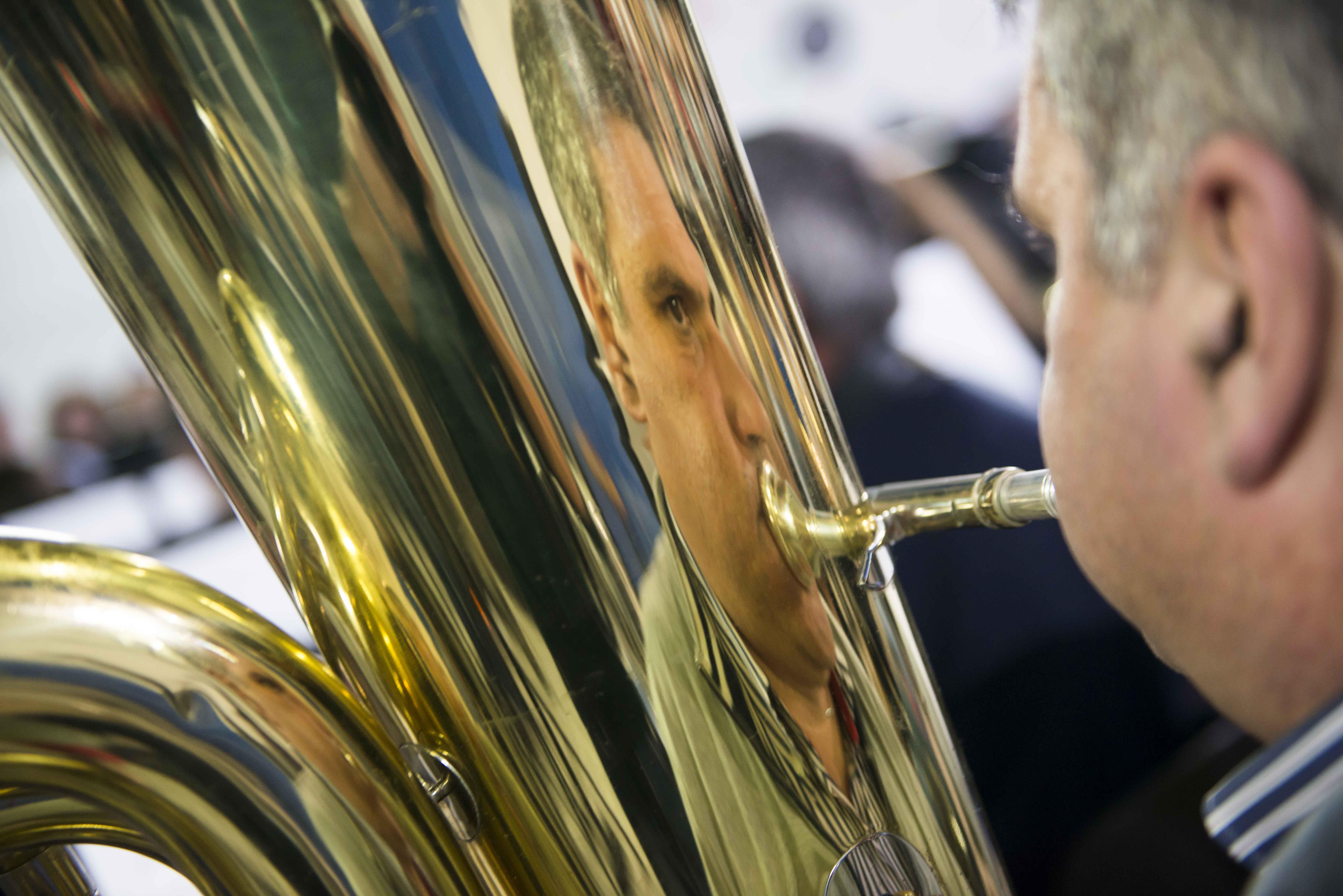 Ensaio geral para o concerto sensorial Nascente que se realizará no dia 30 de novembro, pelas 21.30h no Teatro José Lúcio da Silva. Uma produção do SMAS de Leiria e da Sociedade Filarmónica Sr. dos Aflitos do Soutocico que vai contar com 150 músicos em palco. A entrada é gratuita.