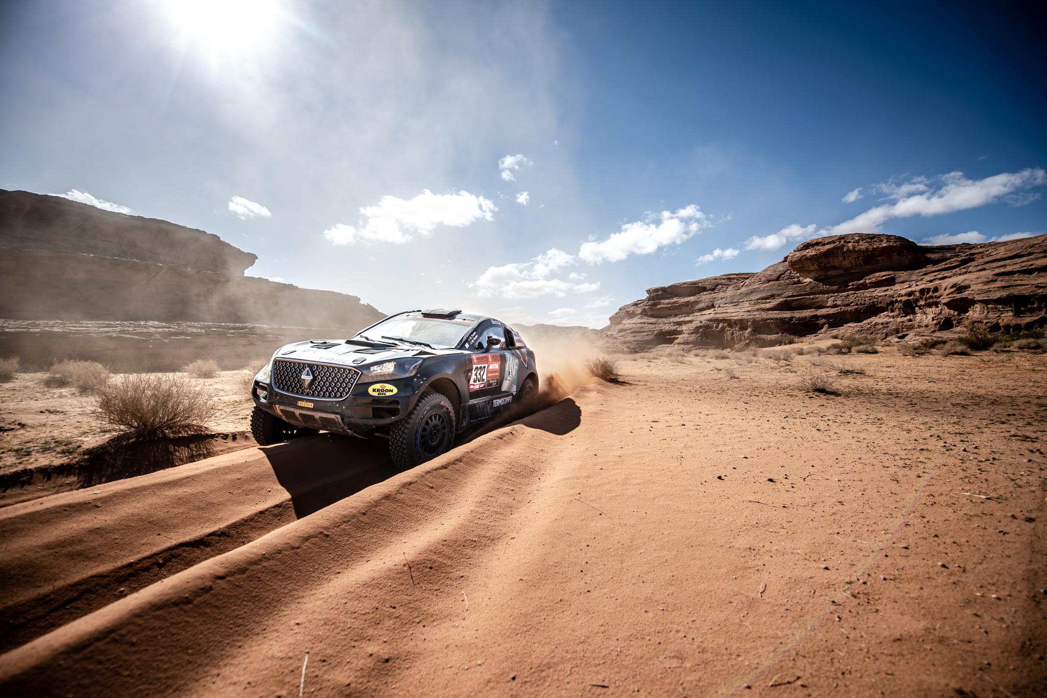 As melhores imagens dos irmãos Porém no Dakar'2020