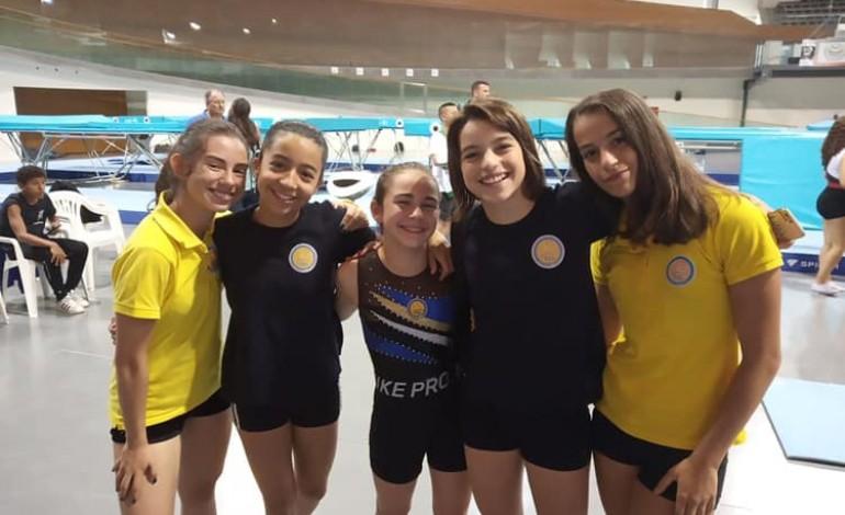Maria Carvalho, Diana Silva, Maria Eduarda Silva, Rita Vieira e Margarida Amado (TCL)