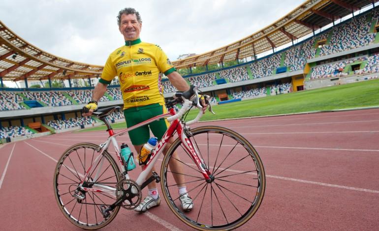 Carlos Vieira sempre teve orgulho de Leiria e levava o nome da cidade para todo o lado para onde pedalava